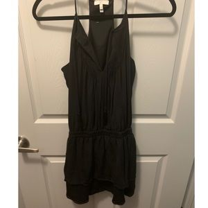 Black mini/midi dress